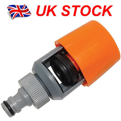 Universal Tap To Garden Hose Pipe Connector Mixer Kitchen Tap Adapter Orange