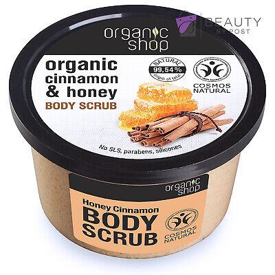 Organic Shop Body Scrub/Peeling Organic Cinnamon Honey 250ml
