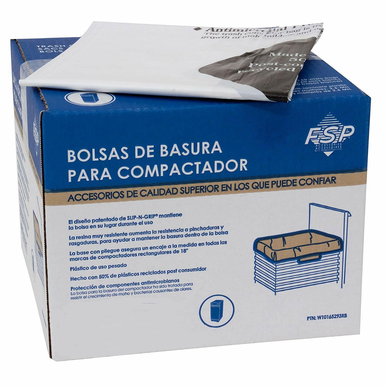 OEM Whirlpool W10165293RB Trash Compactor Bags