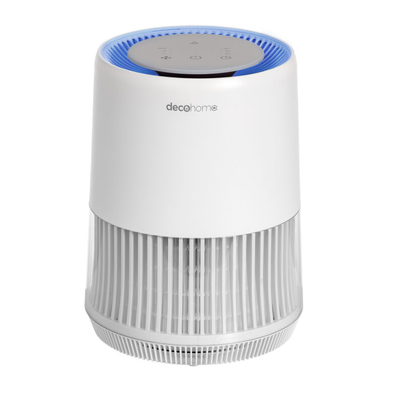 Deco Home Air Purifier Compact HEPA 13, Infrared Technology, for Home or Office