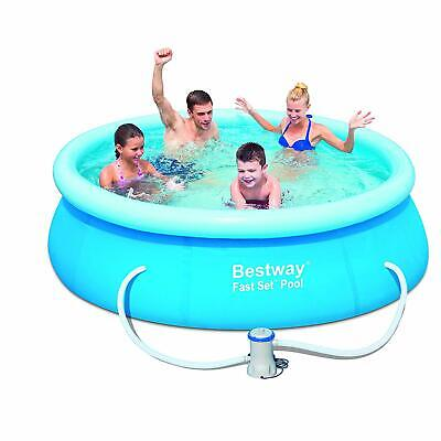 Bestway Clear Fast Set Swimming Paddling Pool 244 X 76 cm New with pump filter