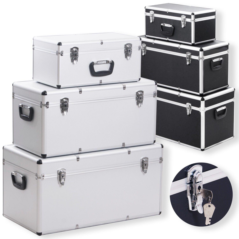 Masko® Set 3x scatole alluminio box trasporto stoccaggio cassetta degli attrezzi