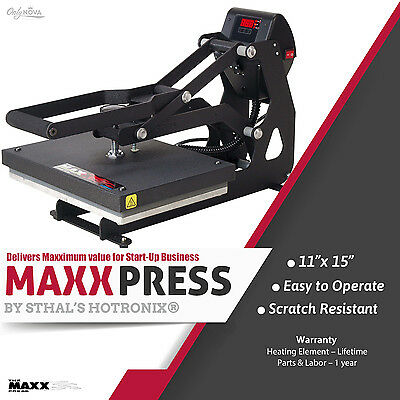 Stahls Hotronix Maxx Clam Heat Press 11 X 15 Free Fedex Ground Shipping