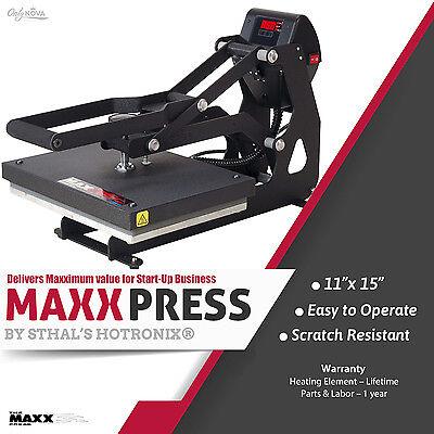 Stahls Hotronix Maxx Clam Heat Press 11 X 15 Free Fedex Ground Shipping