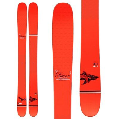 BRAND NEW! 2020 LINE BACON SHORTY SKIS w/ATOMIC Z10 BINDING SAVE 40% OFF!