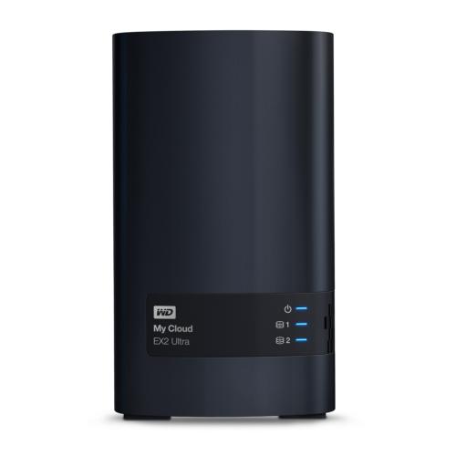 WD My Cloud EX2 Ultra NAS System 2-Bay 6TB (2x 3TB WD RED HDD)