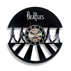 BEATLES_Exclusive wall clock made of vinyl record_GIFT_DECOR