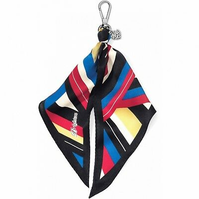 NWT Brighton MOD STRIPE Scarf Fob Let's Hang Out  MSRP $40 - Brighton Jewelry Outlet