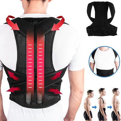 Adjustable Back Brace Lumbar Support Comfortable Posture Corrector for Men Women