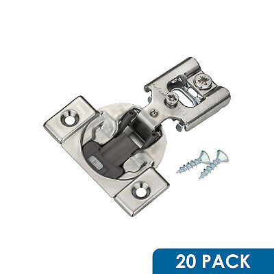 20 Pack BLUM BLUMOTION 38N CABINET HINGES 1/2 OVERLAY SOFT CLOSE 38N355B.08