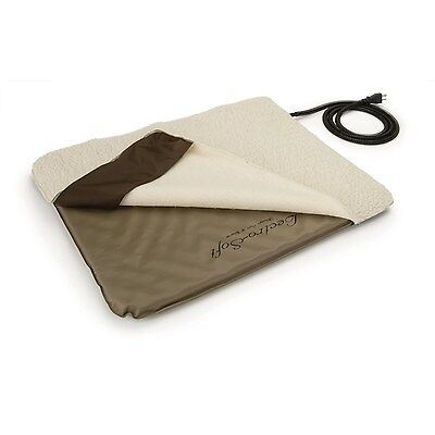 K&H Medium Indoor/Outdoor Lectro Soft Heated Dog Bed with Fleece Cover KH1080 2