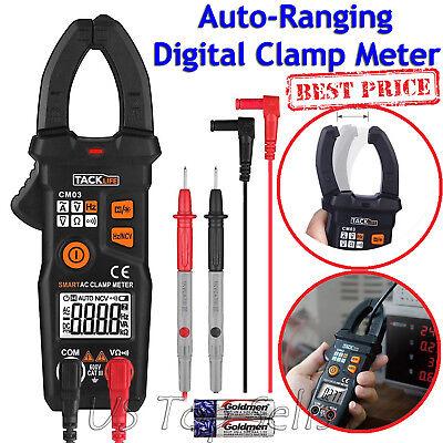 Digital Clamp Meter Tester Acdc Volt Amp Multimeter Auto Ranging Current 6000