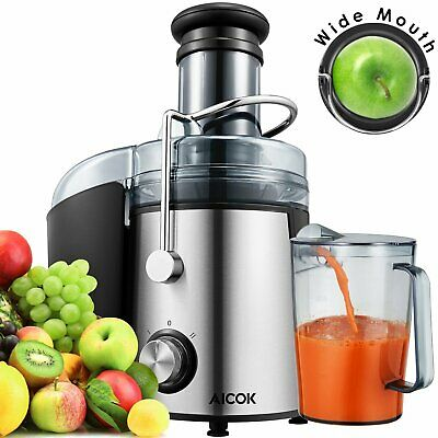 Aicok Juicer Wide Mouth Juice Extractor 1000 Watt Centrifuga