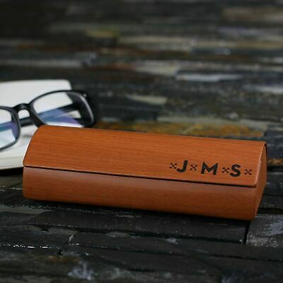 Personalized Engraved Eyeglass Spectacles Glasses Case w/ Your Name or (Personalized Glasses Case)