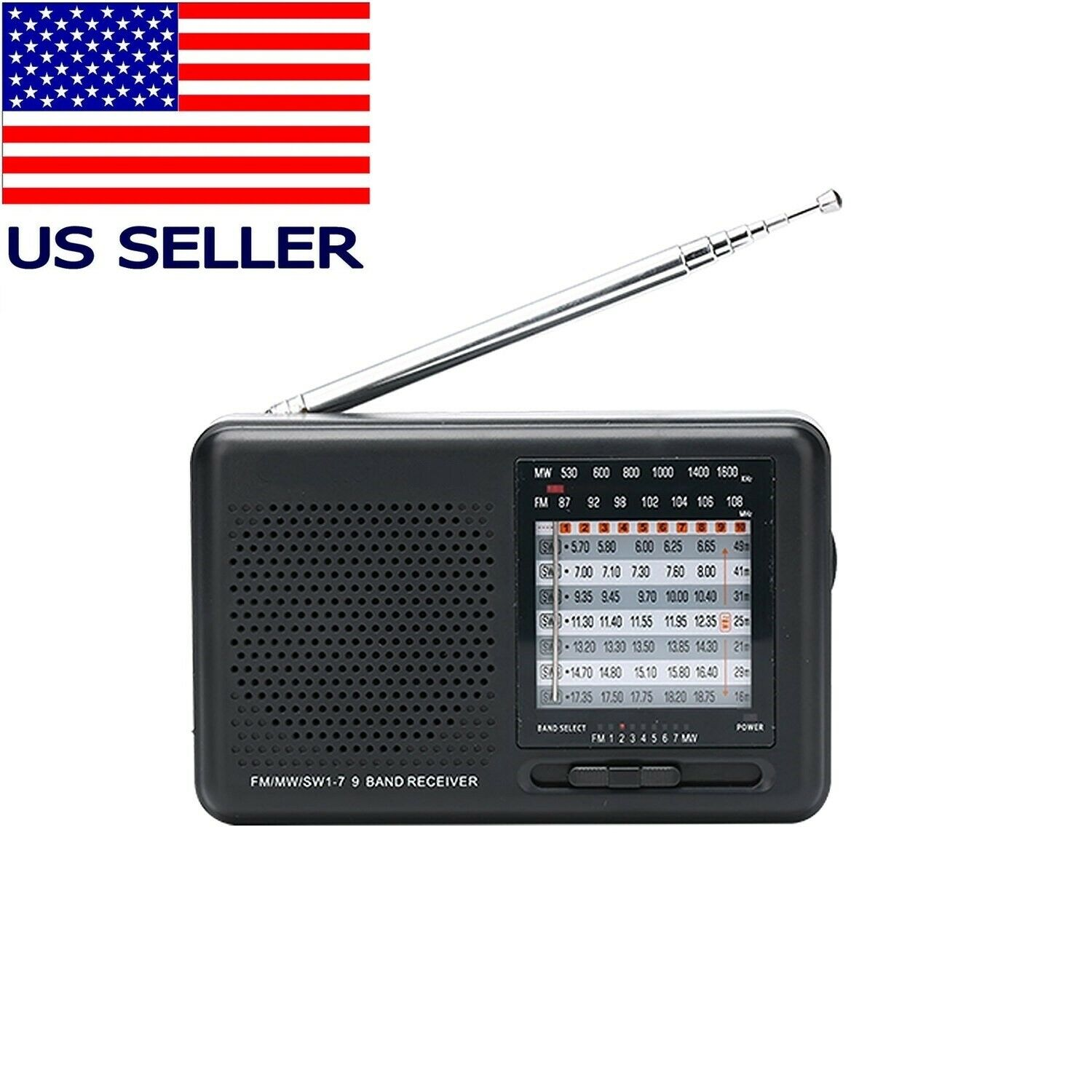 portable fm am sw pocket radio