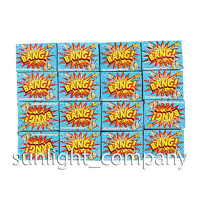 SUPER LOUD Noisemaker Favors Party Snaps Pops 36 Boxes (1800 Snap - Noise Maker Party Favors
