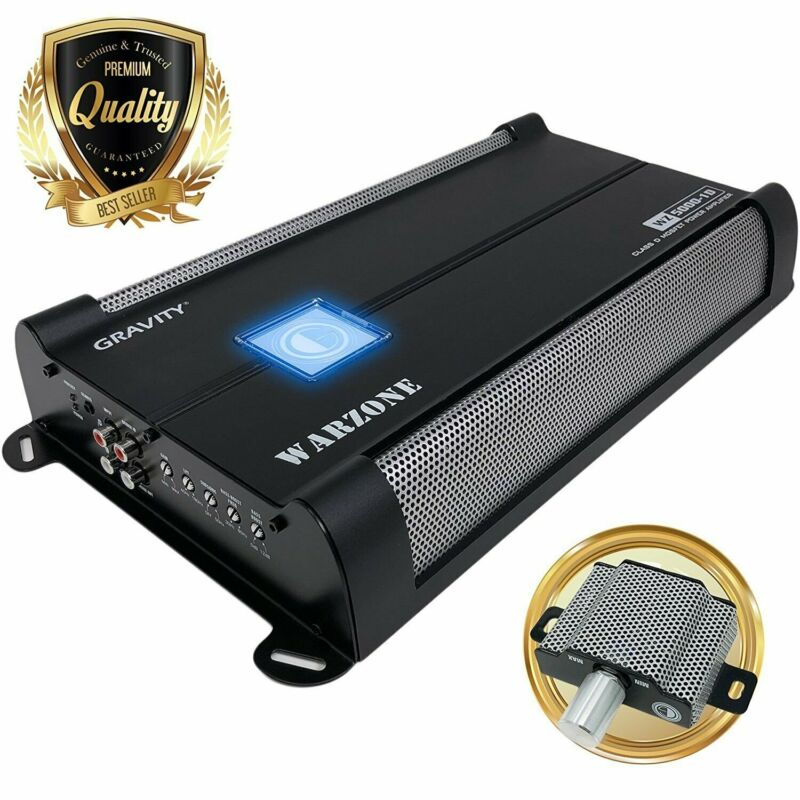 Gravity 5000 Watts Class D 1 Ohm Stable car audio Sub bass Competition Amplifier