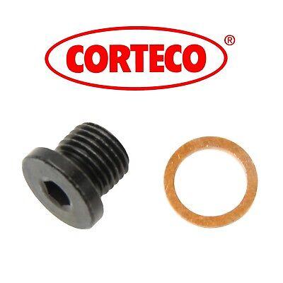 For Audi Q7 Q5 S5 A7 A8 Quattro Engine Oil Drain Plug 3.0L Corteco 220150S