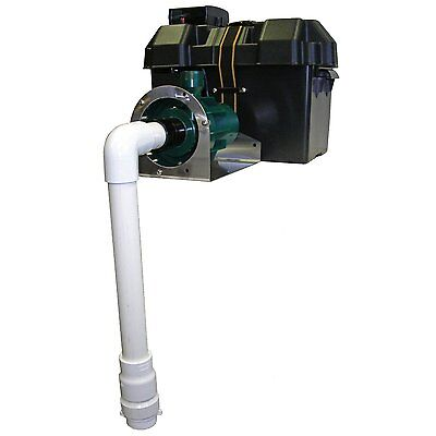 Hydropump RH1400 Battery Powered Backup Sump Pump by Basepump