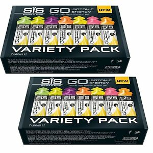 2-x-SCIENCE-IN-SPORT-SIS-GO-ISOTONIC-ENERGY-GEL-VARIETY-PACK-14-x-60ml-Gels