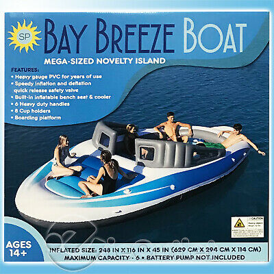 BAY BREEZE PARTY BOAT BIG GIANT 20