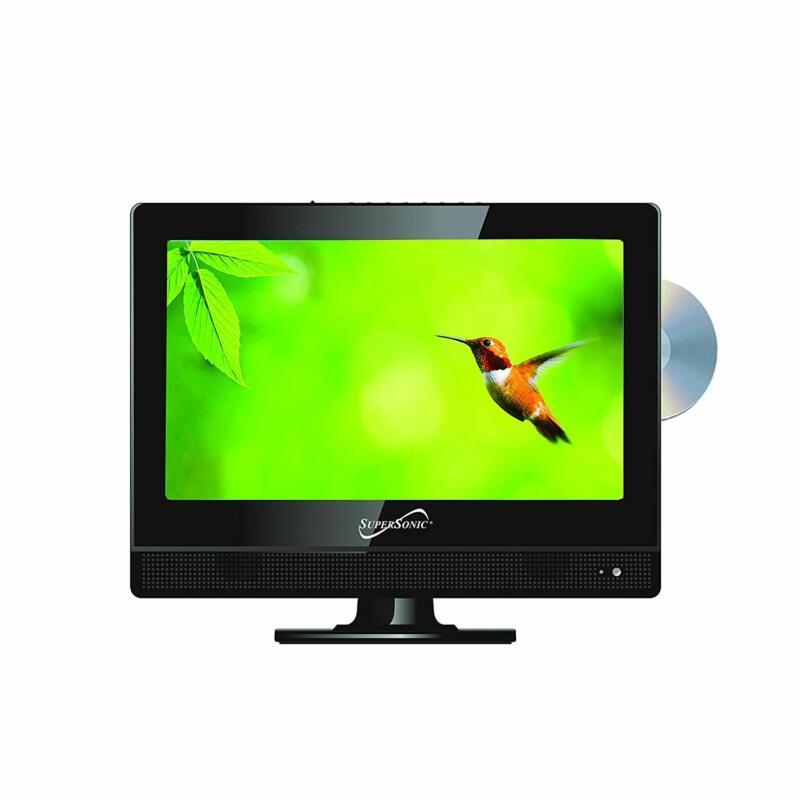 "13.3"" Supersonic 12 Volt AC/DC LED HDTV w/ DVD Player, USB, SD Card Reader, HDMI"