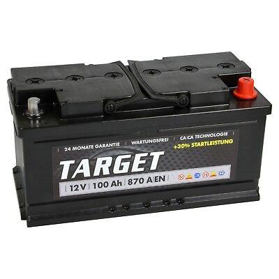 PKW Batterie 12V 90Ah Starterbatterie Autobatterie 85 88 92 95 100Ah