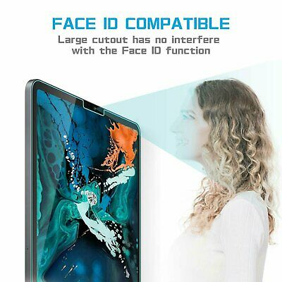 2-Pack Tempered Glass Screen Protector for For Apple iPad Pro 11″  (11 inch) Cell Phone Accessories