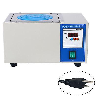 Digital Lab Thermostatic Water Bath Single Hole Electric Heating 110v New