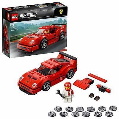 LEGO 75890 Speed Champions Ferrari F40 Fast Competizione Toy Car Building Kit