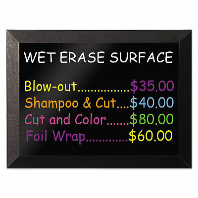 Mastervision Kamashi Wet-erase Board 48 X 36 Black Frame Mm14151620