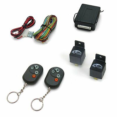 Autoloc 8-Function Remote Keyless Entry w/ 2 Relays AutoLoc AUTKLK800 hot rod Valiant Keyless Entry