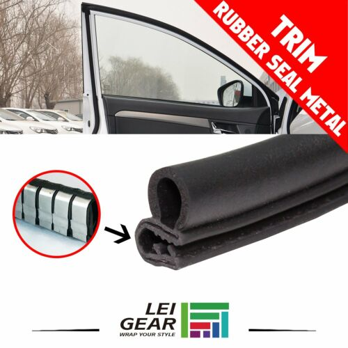 Car Parts - 10ft Rubber Seal Weatherstrip Car Door Lock Edge Anti Collision All Weather Trim