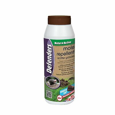 Defenders Mole Repellent Scatter Granules - 6 x 450 GM [VIC0570]