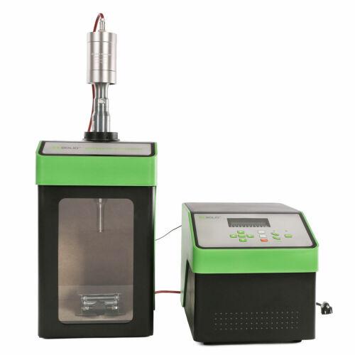 Ultrasonic Homogenizer Sonicator Cell Disruptor Mixer 600W 20-500 ml CE