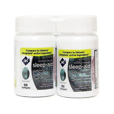 -  Sleep Aid Sleeping Pills Members Mark Diphenhydramine 50mg  (192 ct.)