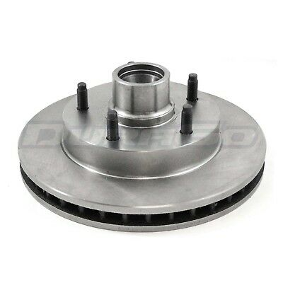 Disc Brake Rotor and Hub Assembly Front IAP Dura BR5553 fits 84-87 Pontiac Fiero