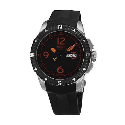 Tissot T062.430.17.057.01 Men's T-Navigator Black Quartz Watch