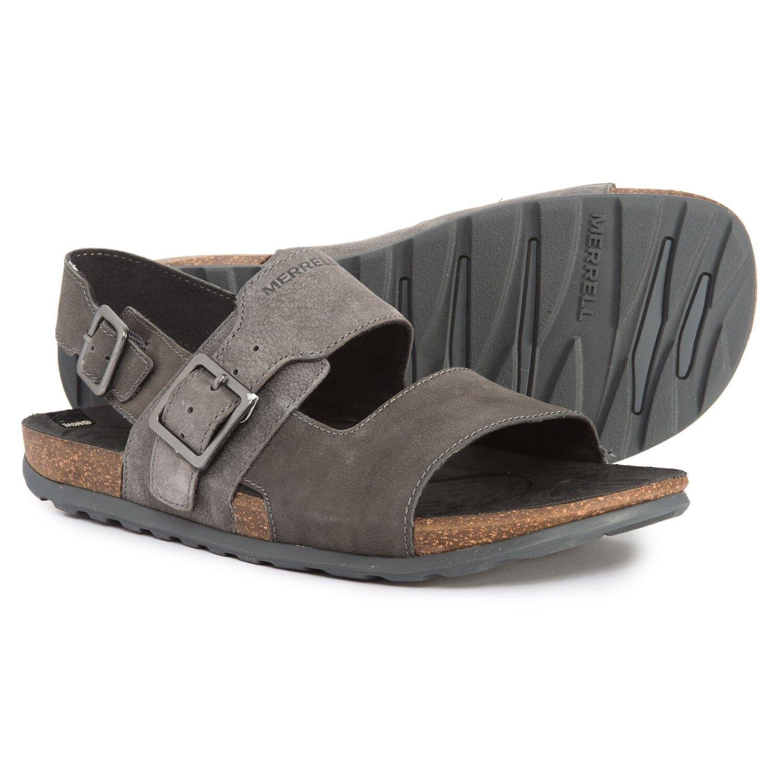 New Men`s Merrell Downtown Backstrap Buckle Sandals J93953