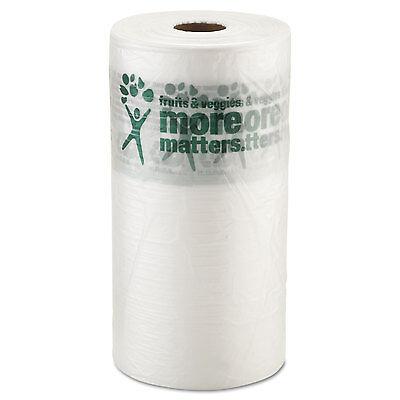 Inteplast Group Produce Bag 10 x 15 9 Microns Natural 1400/Roll 4 Rolls/Carton