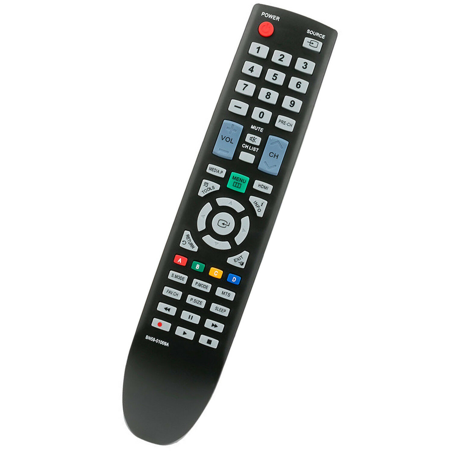 New Replace TV Remote Control BN59-01009A for Samsung LED PL