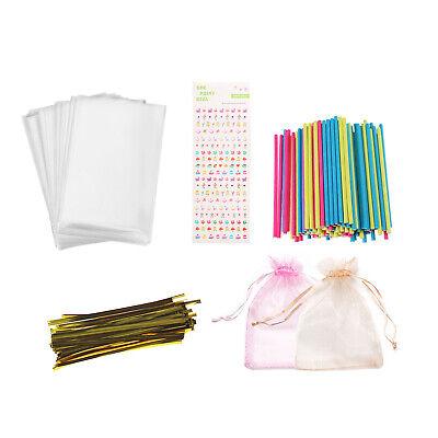 Lollipop Making Kit-399 PCS Cake Pops Making Accessories-Make Your Own Lollipops