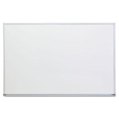 Universal Dry Erase Board Melamine 36 x 24 Satin-Finished Aluminum Frame 43623
