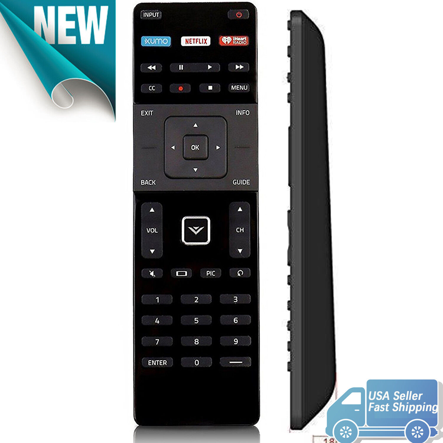 new for smart tv remote control xrt122