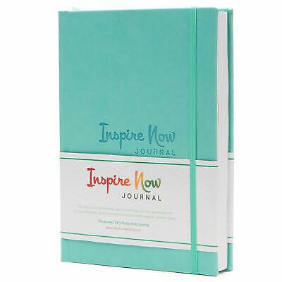 Inspire Now Journal Daily Planner Productivity Notebook Organiser Undated Pages