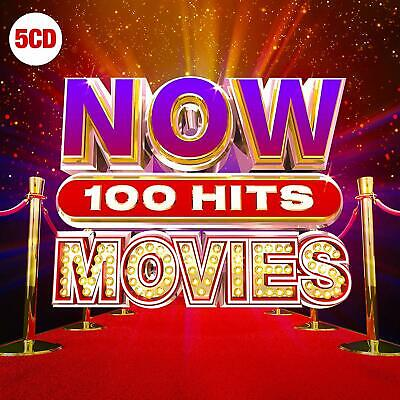 NOW 100 HITS - MOVIES [5 CD] NEW & SEALED