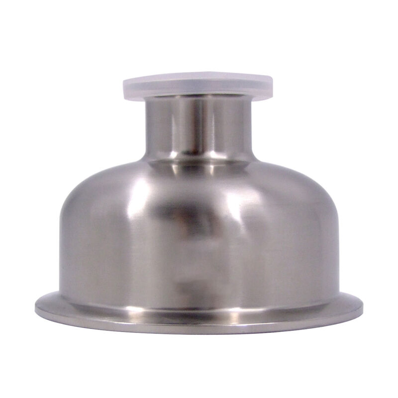 "HFS(R) 1.5"" X 3"" Sanitary Tri Clamp Bowl Reducer - Stainless"