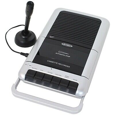 Jensen Mcr100 Cassette Player And Recorder With One Touch