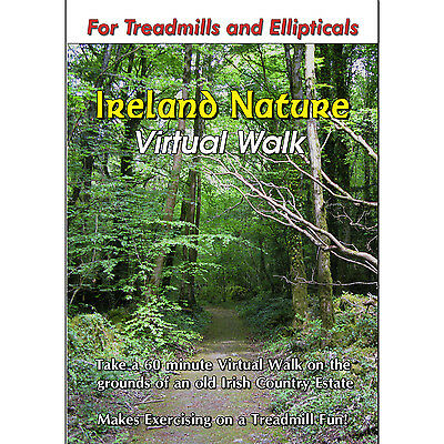 IRELAND NATURE TREADMILL WALK DVD SCENERY VIDEO : LOW IMPACT EXERCISE FITNESS !