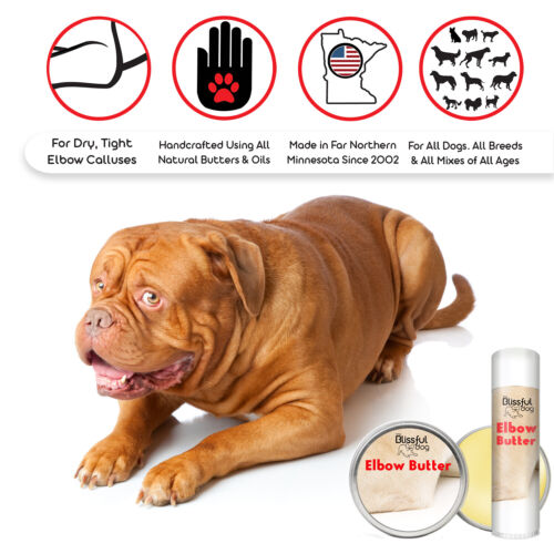 Elbow Butter | Herbal Balm Moisturizes & Conditions Your Dog